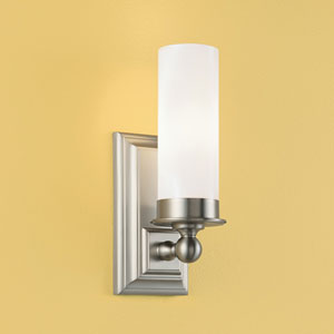 Richmond Brushed Nickel Wall Sconce