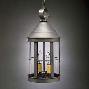 Medium Dark Brass Heal Hanging Outdoor Lantern
