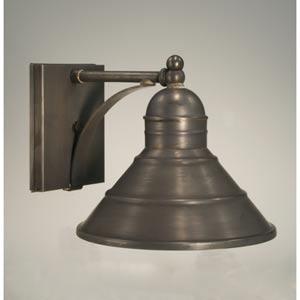 Barn Dark Brass One-Light Outdoor Wall Light