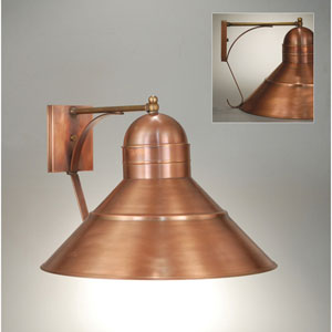 Barn Antique Copper 18-Inch One-Light Outdoor Wall Sconce