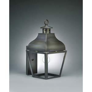 Medium Dark Brass Stanfield Philadelphia Wall Lantern
