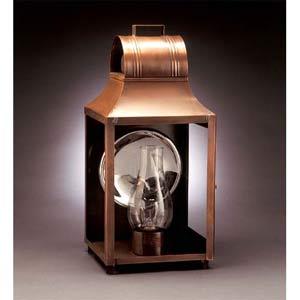 Medium Antique Copper Barn Outdoor Wall Lantern