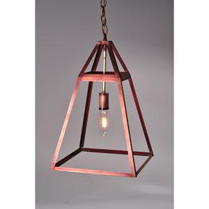 Appledore Antique Copper 12-Inch One-Light Pendant