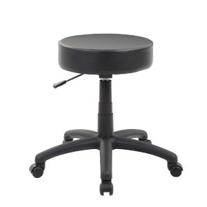 Black 25-Inch the Dot Stool