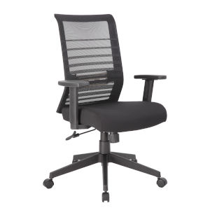 Boss 26-Inch Black Mesh Task Chair