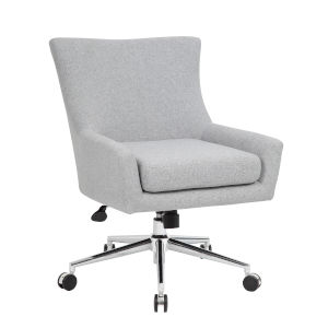 Boss 26-Inch Grey Accent Chair