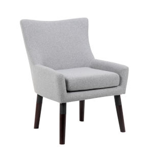 Boss 28-Inch Grey Accent Chair