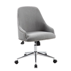 Boss Carnegie Desk Chair - Grey