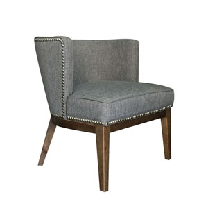 Boss Ava Accent Chair - Medium Grey