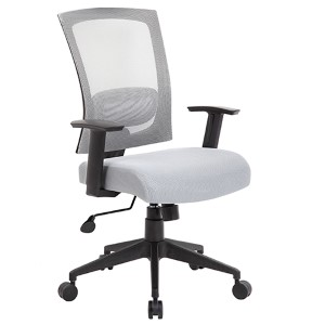 Rainbow Mesh Grey Task Chair
