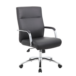 Boss Modern Executive Conference Chair - Black