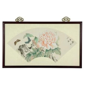 Butterflies Watercolor: 19 x 11 Hand Colored Prints Wall Art