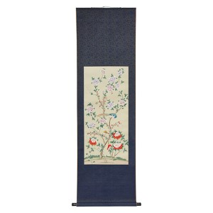 Multi-Colored Daylight Blossom Wall Scroll