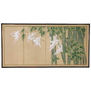 24-Inch Bamboo Escape Silk Screen