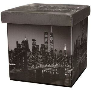 Brooklyn Bridge Storage Ottoman