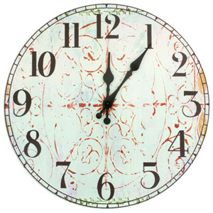 Winter Peace by Gita Wall Clock