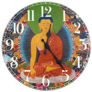 The Enlightened Buddha Wall Clock