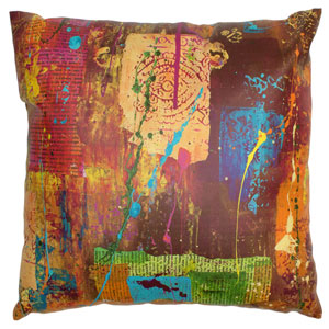 India by Gita Pillow