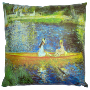 Renoir on the Seine Pillow