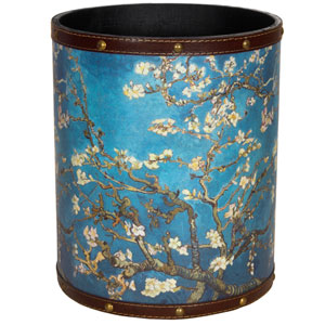 Van Gogh Autumn Blossom Waste Basket