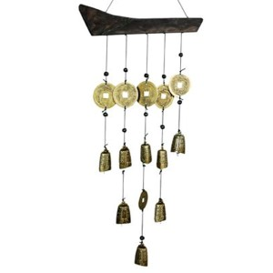 Tibetan Brass Bell Wind Chimes