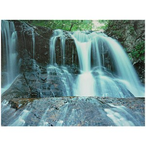 Waterfall: 23.5 x 31.5 Canvas Wall Art