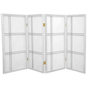 Three Ft. Tall Double Cross Shoji Screen, Width - 70 Inches