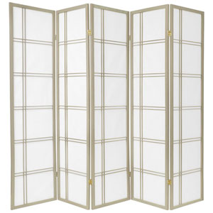 Double Cross Shoji Screen - Special Edition , Width - 86.25 Inches