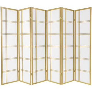 Double Cross Shoji Screen - Special Edition , Width - 103.5 Inches