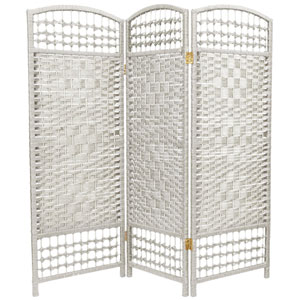 Four Ft. Tall Fiber Weave Room Divider, Width - 48 Inches