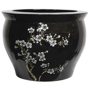 14 Inch Flower Blossom Fish Bowl