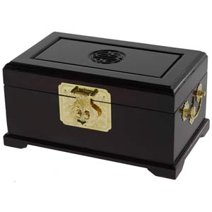 Rosewood Merbu Jewelry Box