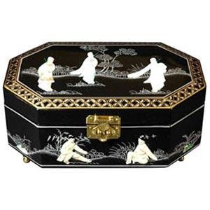 Violetta Black Jewelry Box