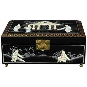 Clementina Black Jewelry Box