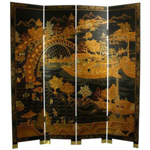 Ching Ming Festival Screen, Width - 64 Inches