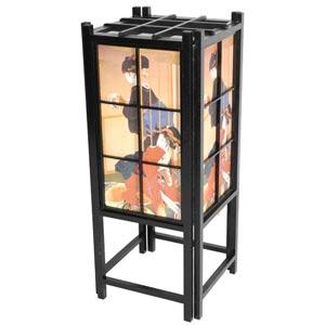 Geisha Black Shoji Lamp