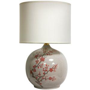 20-inch Cherry Blossom Vase Lamp