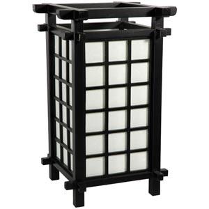Ido Japanese Black Accent Lamp