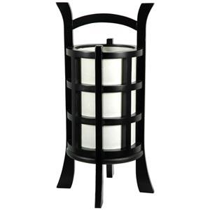 Kharbarousk Black Accent Lamp