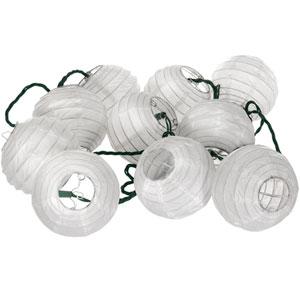 Maru Ball String Lights (Snow)