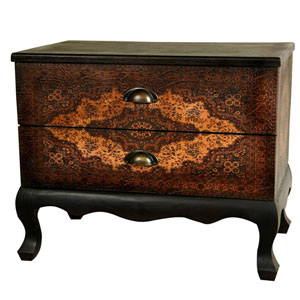 Olde - Worlde Euro Two Drawer Cabinet, Width - 24 Inches