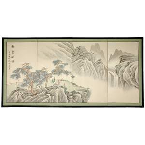 36-Inch Mountain of Knowledge Silk Screen