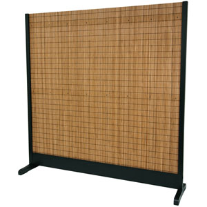6 1/4 ft. Tall Take Room Divider - Black
