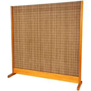 6 1/4 ft. Tall Take Room Divider - Honey