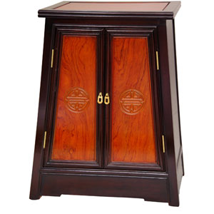 Rosewood Long Life Cabinet - Two Tone, Width - 23 Inches