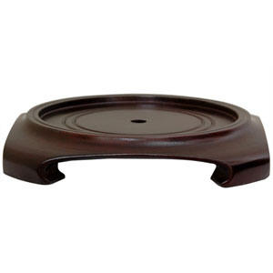 Rosewood Vase Stand 8.5 Inch, Width - 8 Inches