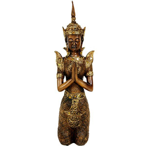 16 Inch Thepenom Thai Angel Statue, Width - 4 Inches
