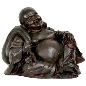 5-inch Sitting Happy Buddha Statue