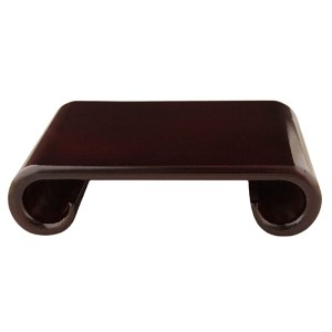 Red Large Rosewood Scroll Stand