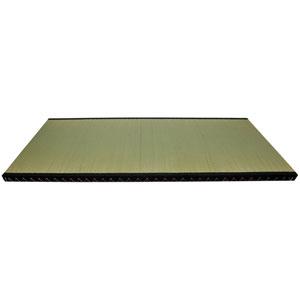 6 x 3 Full Size Fiber Fill Tatami Mat, Width - 35.39 Inches